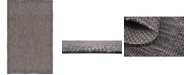 Bridgeport Home Pashio Pas6 Black 5' x 8' Area Rug