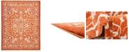 Bridgeport Home Norston Nor1 Terracotta 8' x 10' Area Rug