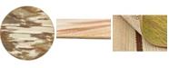 Bridgeport Home Pashio Pas2 Beige 8' x 8' Round Area Rug