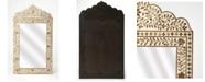 Butler Specialty Butler Vivienne Wood and Bone Mirror