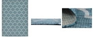 "Bridgeport Home Pashio Pas5 Teal 8' x 11' 4"" Area Rug"