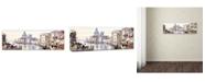 "Trademark Global The Macneil Studio 'Waterway' Canvas Art - 16"" x 47"""