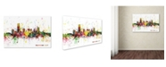 "Trademark Global Michael Tompsett 'Oklahoma City Skyline' Canvas Art - 16"" x 24"""