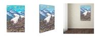 "Trademark Global Lantern Press 'Travel 27' Canvas Art - 16"" x 24"""