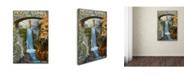 "Trademark Global Lantern Press 'Travel Poster 108' Canvas Art - 16"" x 24"""