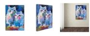 "Trademark Global Richard Wallich 'Owls' Canvas Art - 18"" x 24"""