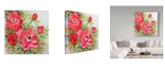 "Trademark Global Joanne Porter 'Red Anemones' Canvas Art - 18"" x 18"""