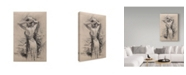 "Trademark Global Steve Henderson 'Preening' Canvas Art - 16"" x 24"""