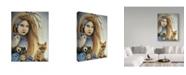 "Trademark Global Sheena Pike Art And Illustration 'Winter Seasons' Canvas Art - 18"" x 24"""