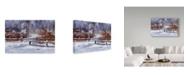 "Trademark Global Rusty Frentner 'Kensington Nature Center' Canvas Art - 16"" x 24"""