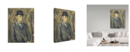 "Trademark Global Paul Cezanne 'The Artists Son Paul' Canvas Art - 19"" x 14"""