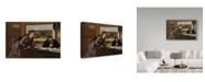 "Trademark Global Edgar Degas 'Sulking' Canvas Art - 24"" x 16"""