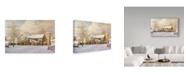 "Trademark Global Jack Wemp 'The Men Return' Canvas Art - 24"" x 16"""