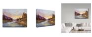 "Trademark Global Jack Wemp 'Clinton Corners, NY' Canvas Art - 19"" x 14"""