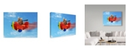"Trademark Global J Hovenstine Studios 'Flying Mouse' Canvas Art - 19"" x 14"""