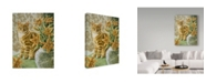 "Trademark Global Jan Benz 'Addie And The Stargazers' Canvas Art - 18"" x 24"""