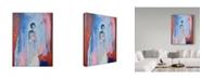 "Trademark Global Jane Hinchliffe 'Faded Beauty' Canvas Art - 24"" x 32"""