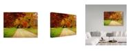 "Trademark Global J.D. Mcfarlan 'Sparks Lane, Tn' Canvas Art - 19"" x 14"""