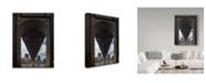 "Trademark Global Jason Matias 'Queens Boro Bridge Flat' Canvas Art - 14"" x 19"""