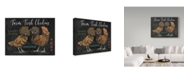 "Trademark Global Jean Plout 'Polish Hen 2' Canvas Art - 24"" x 18"""