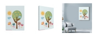 "Trademark Global Rachel Gresham 'Summer Birds' Canvas Art - 18"" x 24"""