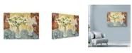 """Trademark Global Lorraine Platt 'Garden Blossom' Canvas Art - 19"""" x 14"""""""