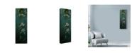 "Trademark Global Michael Jackson 'Hummingbirds And Flowers' Canvas Art - 10"" x 32"""