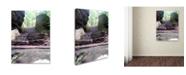 "Trademark Global Monica Fleet 'Endless Stairway' Canvas Art - 19"" x 14"""