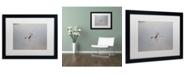 """Trademark Global Monica Mize 'Glide' Matted Framed Art - 16"""" x 20"""""""