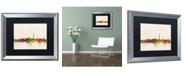 """Trademark Global Michael Tompsett 'Washington DC Skyline' Matted Framed Art - 16"""" x 20"""""""
