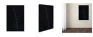 """Trademark Global Kurt Shaffer 'The Green Spiral' Canvas Art - 22"""" x 32"""""""