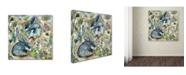 "Trademark Global Wyanne 'Rainy Day Rabbits' Canvas Art - 24"" x 24"""