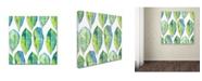 "Trademark Global Mark Ashkenazi 'Ttt 2' Canvas Art - 35"" x 35"""