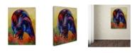 "Trademark Global Marion Rose 'Indian Paintbrush' Canvas Art - 24"" x 32"""