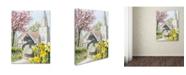 "Trademark Global The Macneil Studio 'Easter Church' Canvas Art - 35"" x 47"""