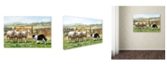 "Trademark Global The Macneil Studio 'Sheepdog With Sheep' Canvas Art - 22"" x 32"""