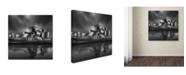 "Trademark Global Moises Levy 'Gug 1 Flat' Canvas Art - 24"" x 24"""