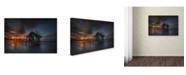 "Trademark Global Moises Levy 'Mi Casa en el Mar' Canvas Art - 22"" x 32"""