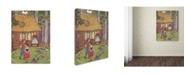 "Trademark Global Vintage Apple Collection 'CA Fairy 78' Canvas Art - 35"" x 47"""