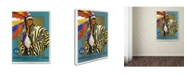 """Trademark Global Vintage Apple Collection 'Native American Clothes' Canvas Art - 24"""" x 32"""""""