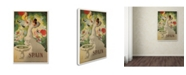 """Trademark Global Vintage Apple Collection 'Spain Morell' Canvas Art - 30"""" x 47"""""""