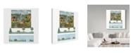 "Trademark Global Lisa Audit 'Country Landscape' Canvas Art - 24"" x 24"""