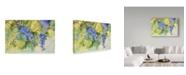 "Trademark Global Joanne Porter 'Grape Vineyard' Canvas Art - 22"" x 32"""