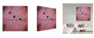 "Trademark Global Nicole Dietz 'Birds Depart' Canvas Art - 35"" x 35"""