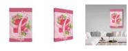 "Trademark Global Melinda Hipsher 'Pink Hope Flower' Canvas Art - 22"" x 32"""