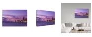 "Trademark Global NjR Photos 'Vivid Morning' Canvas Art - 30"" x 47"""