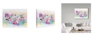 "Trademark Global Sheena Pike Art And Illustration 'Want To Be Unicorns' Canvas Art - 24"" x 32"""