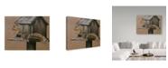 "Trademark Global Rusty Frentner 'Burglar' Canvas Art - 24"" x 32"""