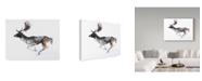 """Trademark Global Mark Adlington 'Evening Buck Fallow Deer' Canvas Art - 24"""" x 32"""""""