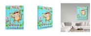 "Trademark Global Valarie Wade 'Swinging Vine' Canvas Art - 35"" x 47"""